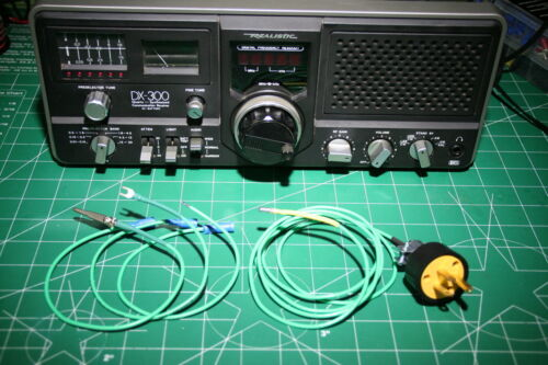 Ground Wire// Listening//Svc Ground Deluxe Shortwave//Communication Receiver