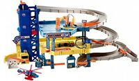 Garage Play Set, Toys Kids Building Blocks Kits Construction 4-level Cars on sale