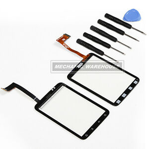 Touch-screen-Digitizer-front-glass-replacement-for-HTC-Wildfire-S-G13-tool-kit