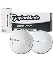 Taylor Made Penta Tp 5 Golf Balls - With practice Stamp - Bulk /new - 3dz.