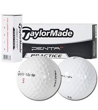 "Taylor Made Penta TP 5 Golf Balls - with ""Practice"" stamp - Bulk /New - 4Dz."