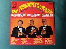 THE TRUMPETS OF PARIS - R DELMOTTE, G JOUVIN, R GUERIN LP 33T VDSM 2C 072 11797