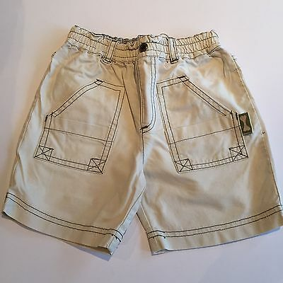 Chino Style Good Reputation Over The World Hearty Sprogs 18-23 Boys Shorts Pockets Beige With Stitching Long