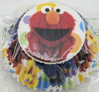 Sesame Street Elmo Cupcake Baknig Cups 50 Ct From Wilton 3470 -