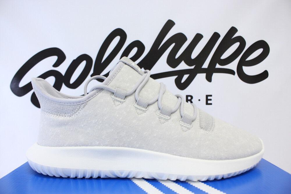 sports shoes 51086 34a44 ADIDAS ADIDAS ADIDAS ORIGINALS TUBULAR SHADOW GREY CRYSTAL WHITE KNIT  BY3570 SZ 13 760a98
