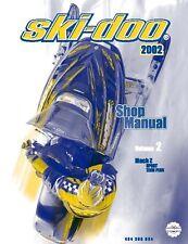 Ski-Doo service shop manual 2002 MACH Z SPORT & TECH PLUS