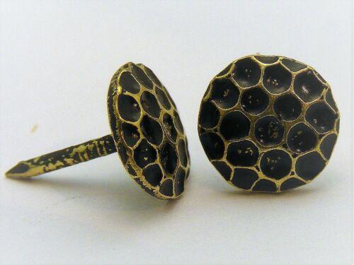 Hammerschlag Polsternägel 100 Stück Ziernägel 1508 M Ø10mm bronce ren