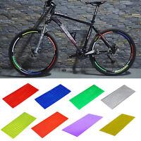 NEW mountain bicycle bike reflective Cycling Wheel Rim Reflective Stickers