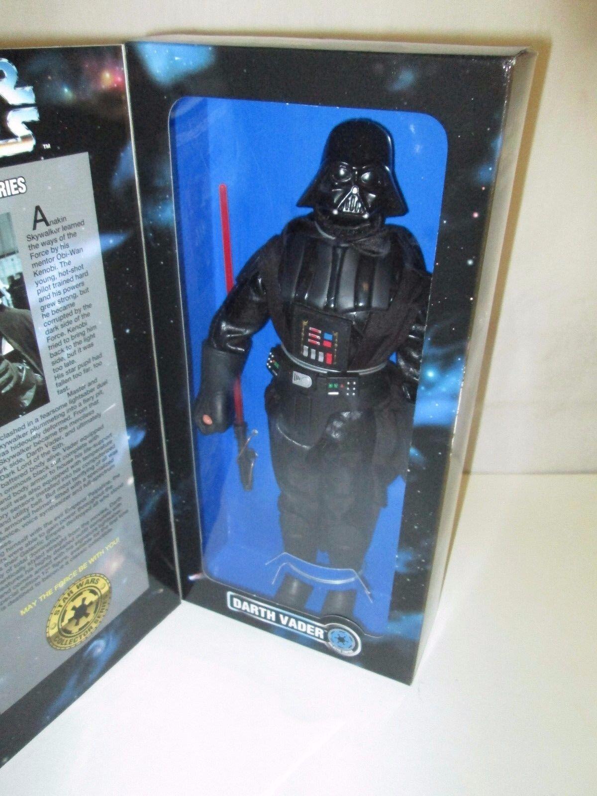 Guerra De Las Galaxias Darth Vader Collector Series 12  pulgadas Figura Muñeca Kenner Hasbro