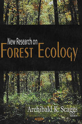 New Research on Forest Ecology by Nova Science Publishers Inc (Hardback, 2007)