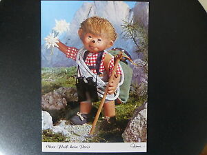 Postkarte-AK-Mecki-Nr-475-Ohne-Fleiss-kein-Preis