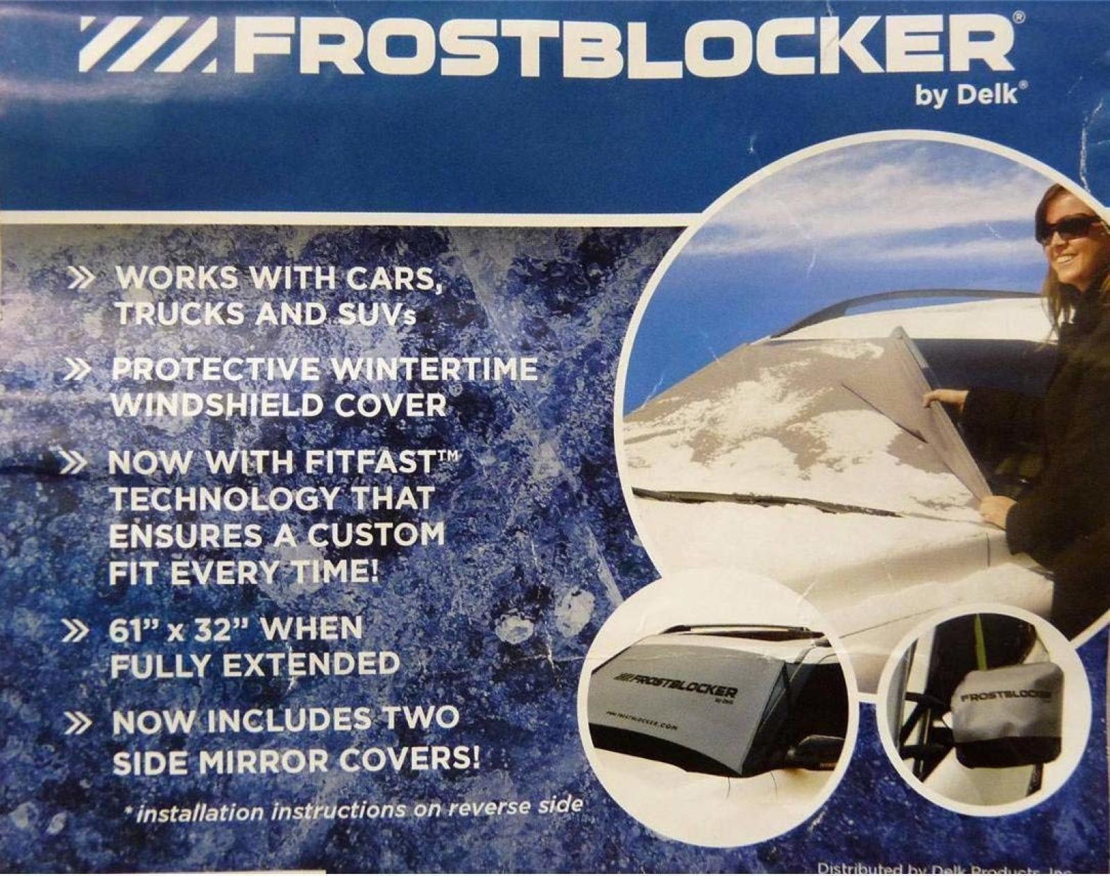 molte sorprese Parabrezza Gelo Ghiaccio Cover Frost Blocker Blocker Blocker + PLUS GRATIS RETROVISORI copre BONUS     una marca di lusso