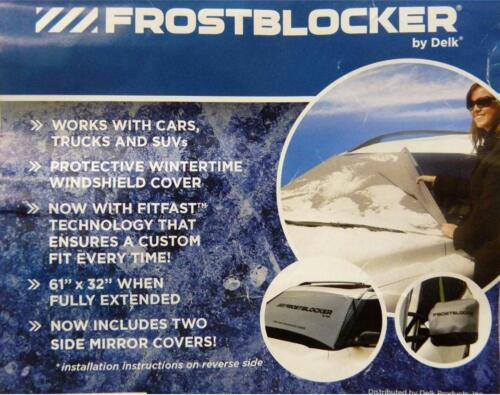 plus libre Wing Mirror Covers BONUS!!! Essui glace Frost Cover Frost Bloqueur