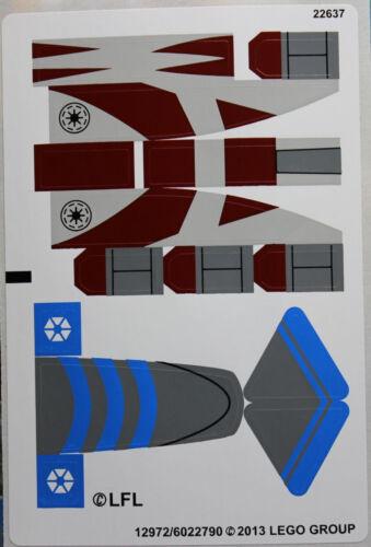 Star Wars 75012 LEGO®  Aufkleber//Sticker 12972//6022790