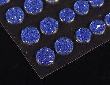 CraftbuddyUS CB70RB 50 Self Adhesive Royal Blue Crystal Diamante Rhinestone Gems