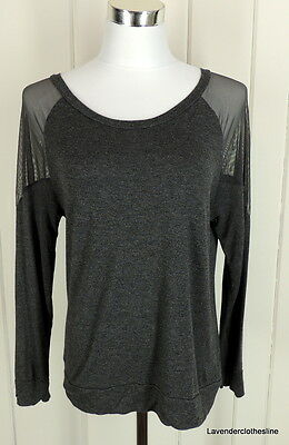 New Zenana Outfitters Stretch Long Line S//S Cold  Shoulder Top 2X Black