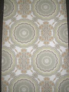 1 Rouleau De Papier Peint Ancien Tapisserie Murale/vintage Roll Wallpaper/n°411