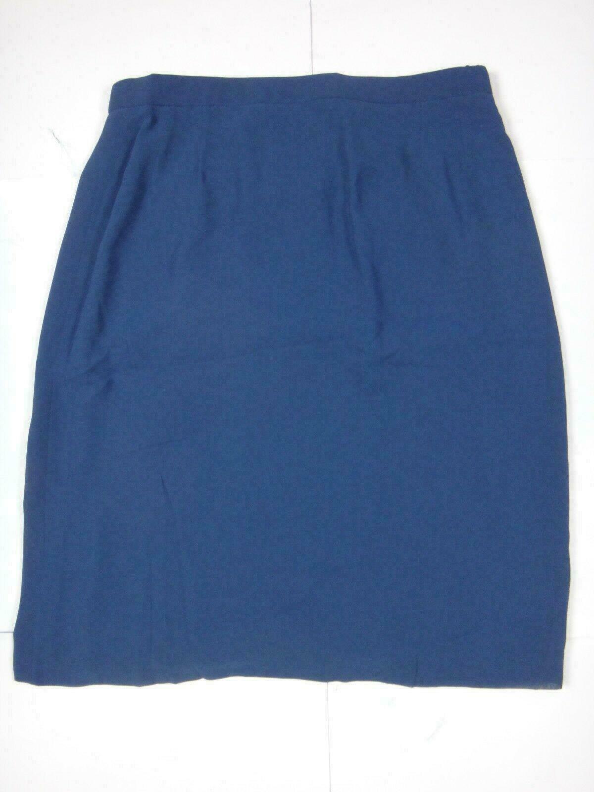 12632 Damen Rock Alexander Gr. 42 dunkelblau