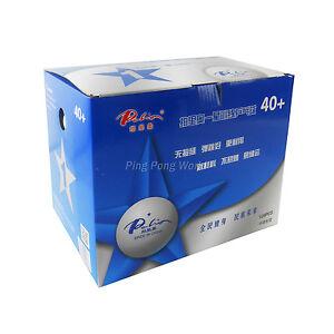 120PCS Palio 1 Star 1-Star 40+ New Materials White Training Table Tennis Balls