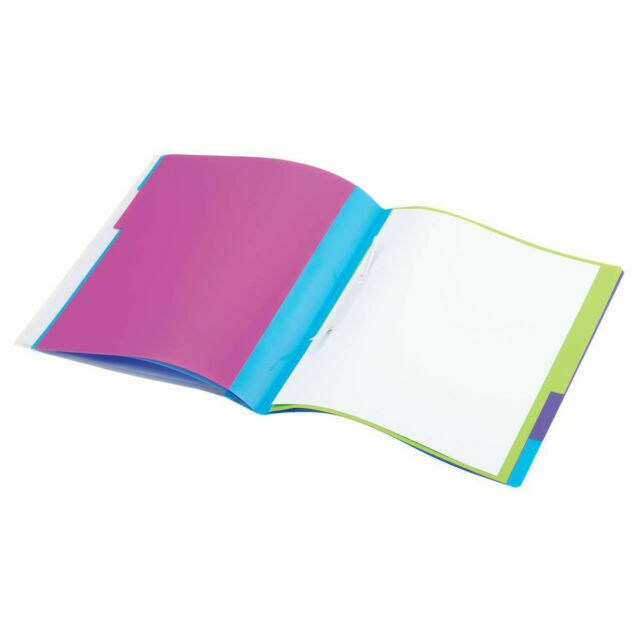 Rexel Manilla A4 Dividers 5 Part Assorted Colours