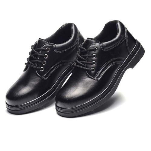 Men/'s Chef Chaussures Acier Orteil Antidérapant Imperméable à l/'huile preuve cuisine assurance NEUF