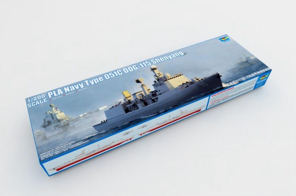 051C DDG-115 Air Defence Missile Destroyer Warship Trumpeter 03619 1 200 Model