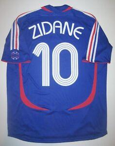 Image is loading 2006-Adidas-France-World-Cup-Zinedine-Zidane-Jersey- 5e0546f2f