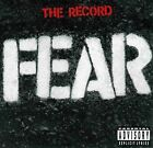 The Record by Fear (CD, Oct-2000, 2 Discs, Slash)