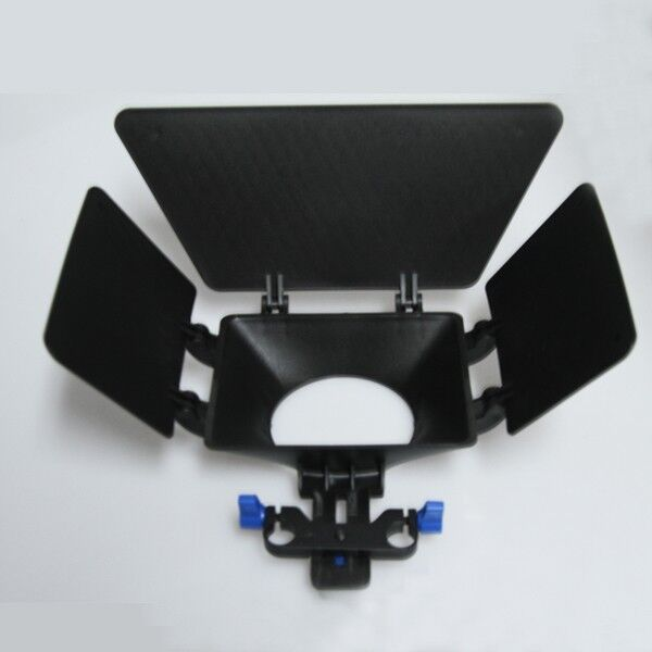 Fotga DP500 DSLR Matte Box for 15mm Rail Rod Suppot Follow Focus Rig 60D