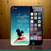 Laughter is Timeless Disney Dreams Mickey Mouse Quote Hard Phone Case Cover Z521