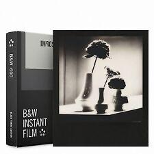 Pellicola Istantanea Polaroid 600 Impossible PX600 Silver Shade Black Frame
