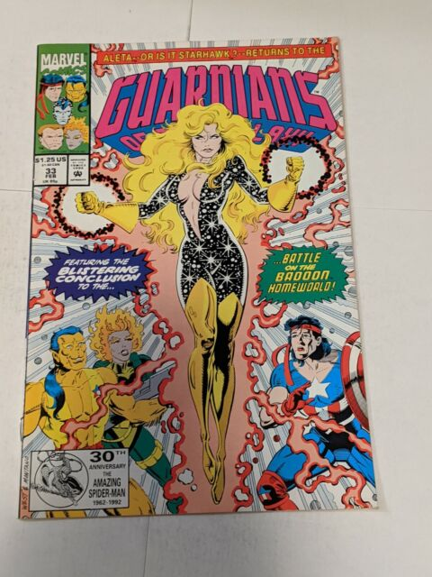 Guardians Of The Galaxy #33 February 1993 Marvel Comics 1st Series