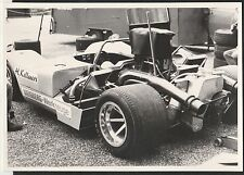 HELMUT KELLENERS McLAREN M8 WEISBERG CAN-AM INTERSERI ORIGINAL PERIOD PHOTOGRAPH