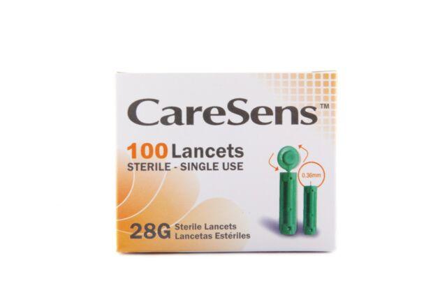 CareSens 28G sterile, single use lancets