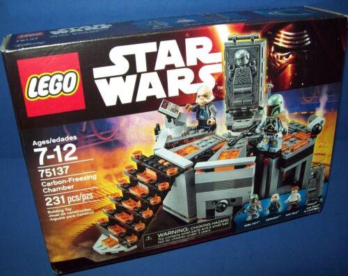 LEGO 75137 CARBON-FREEZING CHAMBER ~ STAR WARS NISB new