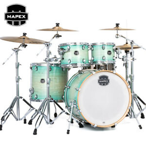 Mapex Armory Drum Set Rock 5 Pc Full Size Shell Pack 22 Ultramarine