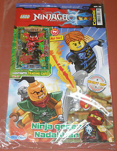 Lego Ninjago Trading Card Game Serie 2 LE 17 Mächtiger General Kozu Comic