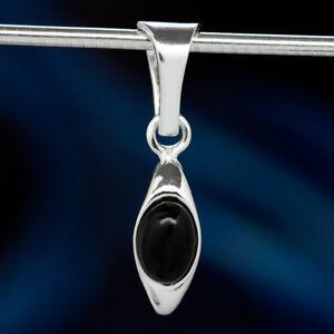 Onyx-Silber-925-Anhaenger-Sterlingsilber-Damen-Schmuck-A0552