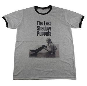 1749ace1b89 The Last Shadow Puppets alex turner Arctic Monkeys  C038 Ringer T ...