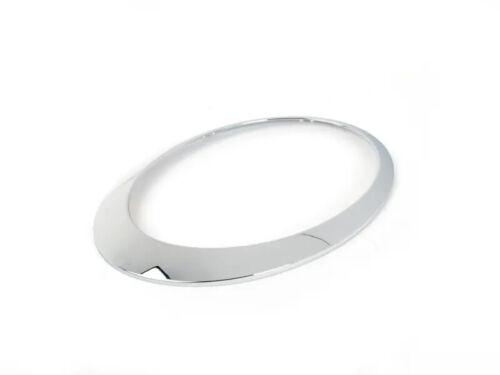 S Left Headlight Headlamp Chrome Trim Ring MINI R50 R52 R53 One Cooper JS