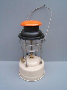 Tilley-lamp-246-Pork-Pie-oil-lamp-orange-original-Tilley-glass-ref-TL5