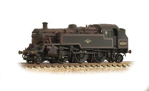 Graham-Farish-372-330-N-Gauge-BR-Standard-3MT-Tank-82029-BR-Lined-Black-Late-Cr