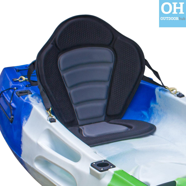 Ultimate Sit On Top Kayak Seat Universal Comfy Padded Adjustable Brass