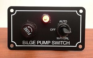 three-way (auto/off/manual) switch for bilge pumps