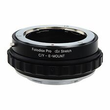 Fotodiox objetivamente adaptador DLX Stretch for Contax/Yashica lens to Sony e-Mount