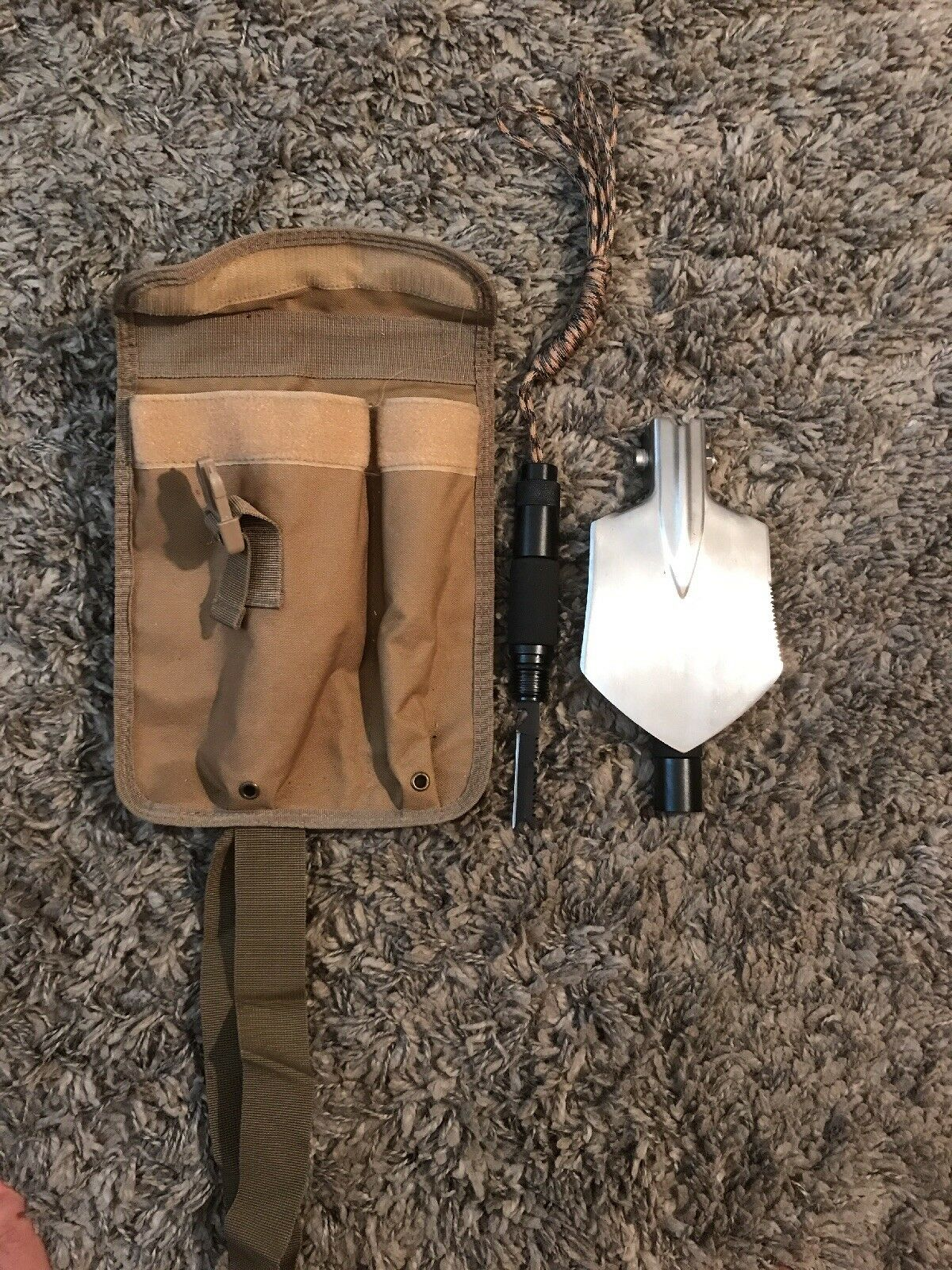 Hiking Shovel, Camping Gear, Outdoor supplies, Survival