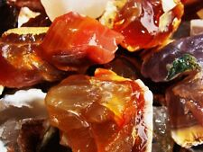 1000 Carat Lots of Brazilian Agate Rough + a VERY Nice FREE Faceted Gemstone