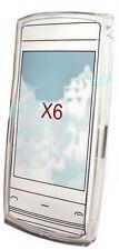 Silikon TPU Handy Hülle Cover Case Schutz in Foggy für Nokia X6