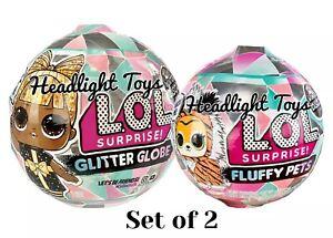 Lol Surprise Winter Disco Glitter Globe Fluffy Pets New Sealed