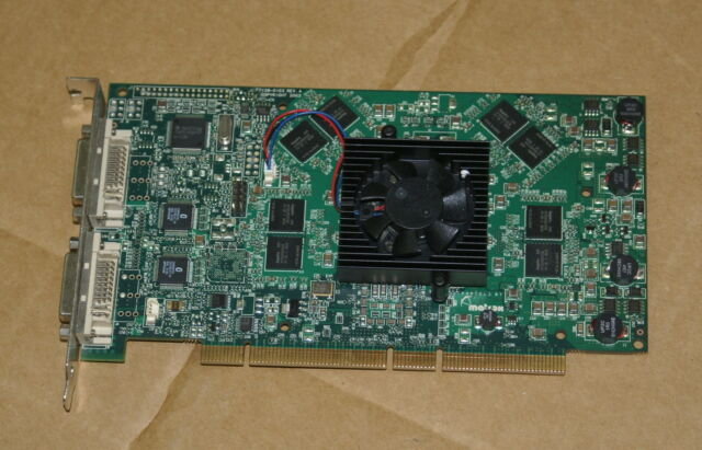 Matrox Parhelia 256MB PCI Drivers (2019)